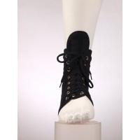 Фиксатор голеностопного сустава эластичный, со шнуровкой, армированный пластинами жесткости Fosta F 2271