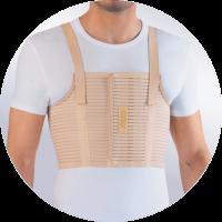 Бандаж на грудную клетку ORTO БГК-423 мужской