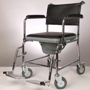 Кресло-туалет нескладное со спинкой Ergoforce E 0807