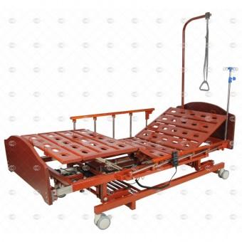 Медицинская кровать с электроприводом и аккумулятором MM-66HА