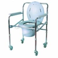 Кресло-туалет складное четырехколесное Ergoforce E 0805