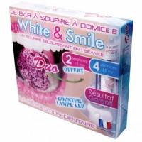 Набор для отбеливания зубов для двоих WHITE AND SMILE DUO со светодиодной лампой